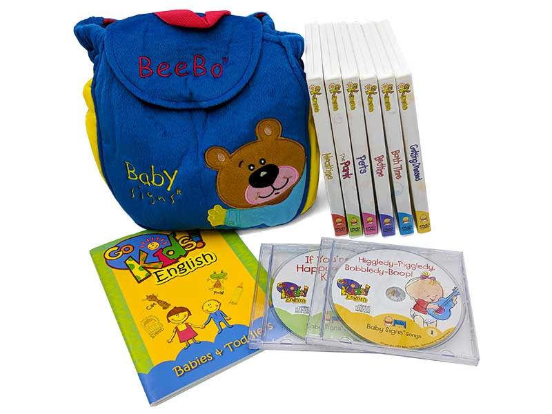 GoKids English sada pro děti 6-36 měsíců