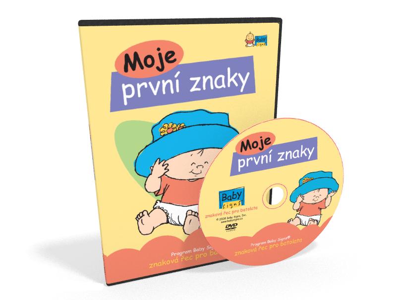 DVD pro děti: Moje první znaky
