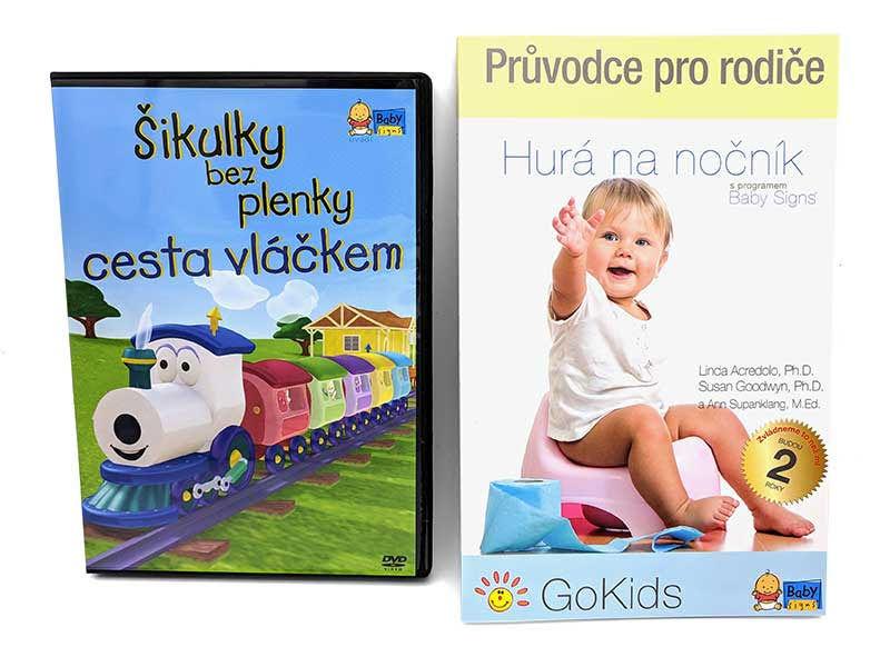 Sada Hurá na nočník s Baby Signs