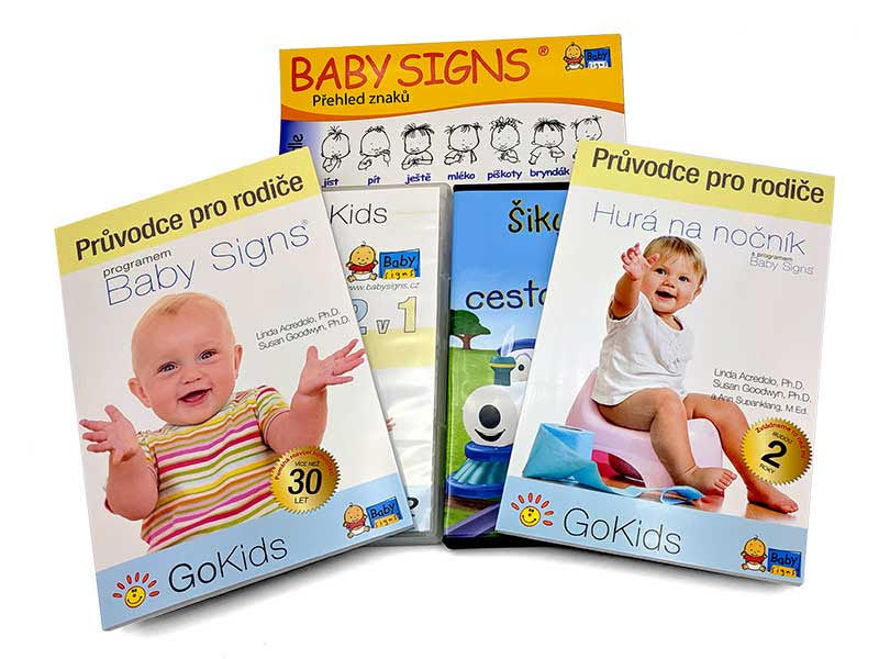 Sada na znakování a odplenkování Baby Signs