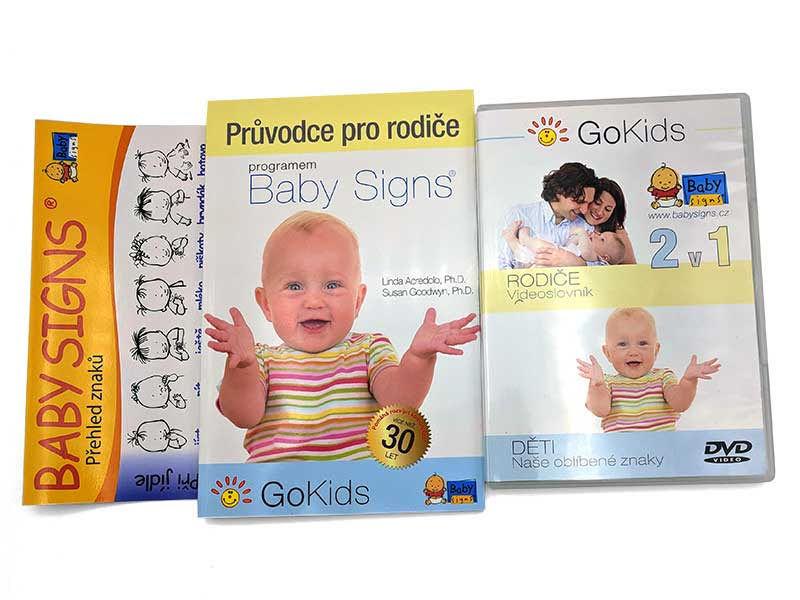 Kompletní sada na znakování Baby Signs