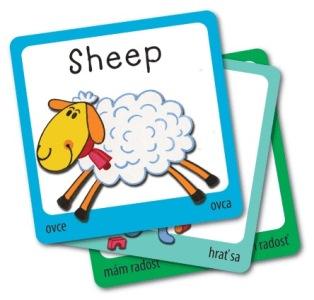 Výukové karty ke znakování i angličtině - sada 2