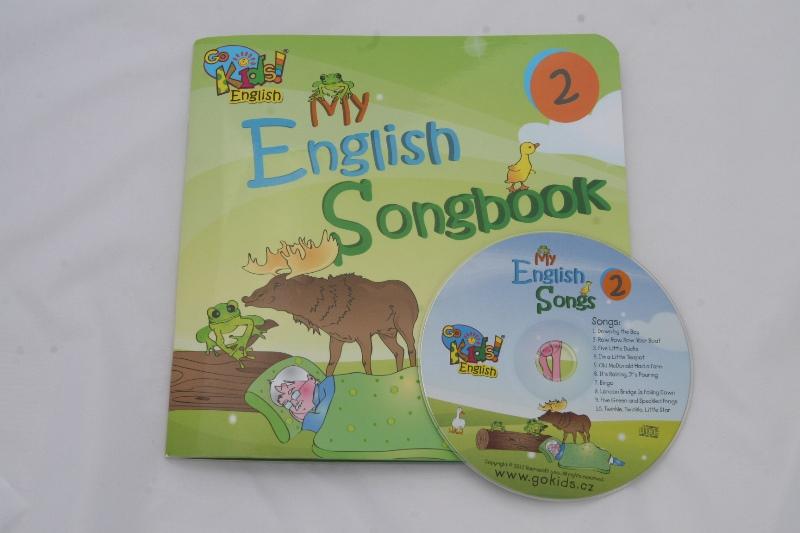 My English Songbook a CD 2 - anglické písničky pro děti a CD 2