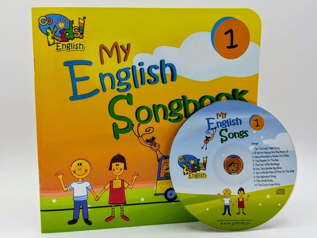 My English Songbook a CD 1 - anglické písničky pro děti a CD 1