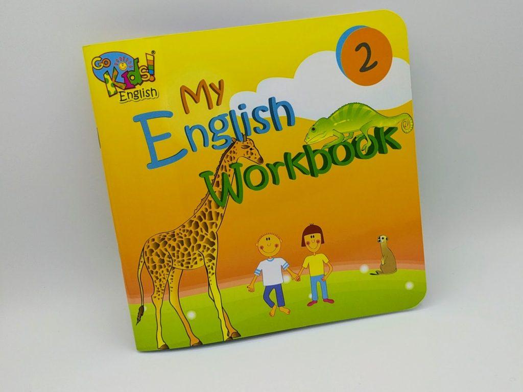 GoKids English Workbook 2 - pracovní sešit na angličtinu pro děti 2