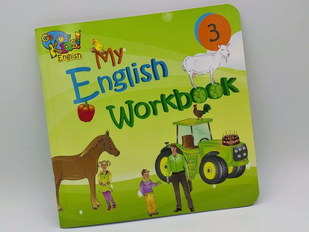 GoKids English Workbook 3 - pracovní sešit na angličtinu pro děti 3