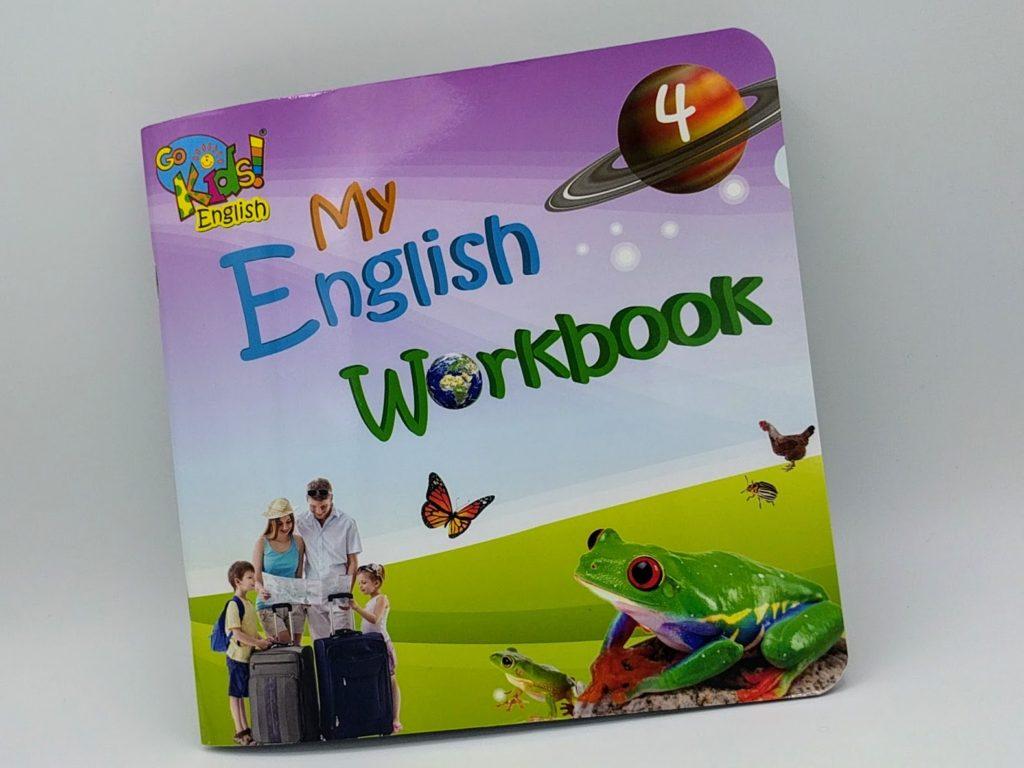 GoKids English Workbook 4 - pracovní sešit na angličtinu pro děti 4