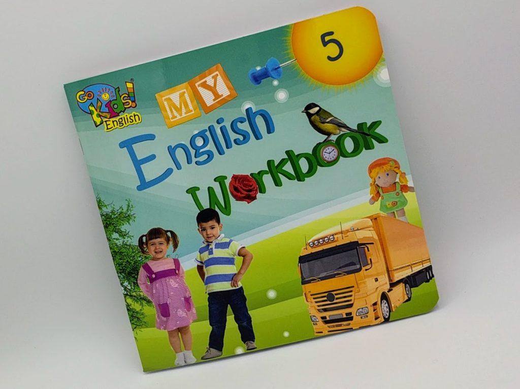 GoKids English Workbook 5 - pracovní sešit na angličtinu pro děti 5