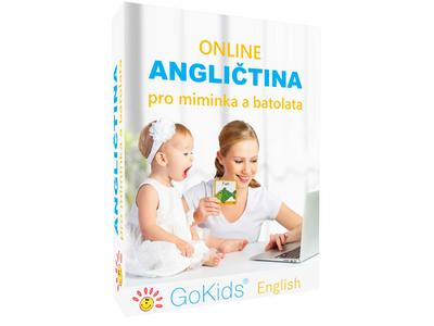 Novinka - Online angličtina pro miminka a batolata - Sada 3